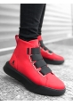 STORM-X Yüksek Taban Black & Red Erkek Spor Bot