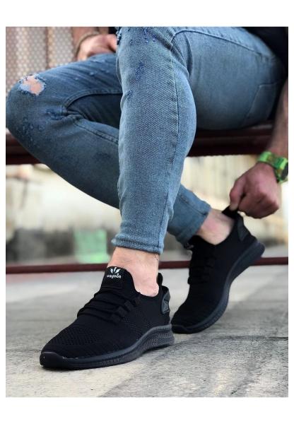 WG101 Kömür Erkek Spor Ayakkabı