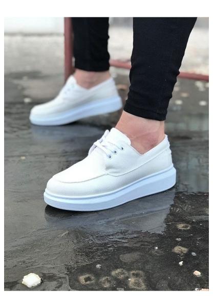 WG503 Beyaz Erkek Spor Ayakkabı