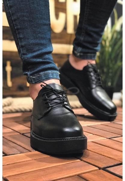 AHN001 Fantasya Siyah Taban Erkek Ayakkabı SİYAH