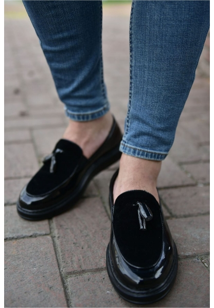 AHN002 Rugan ST Erkek Ayakkabı SİYAH