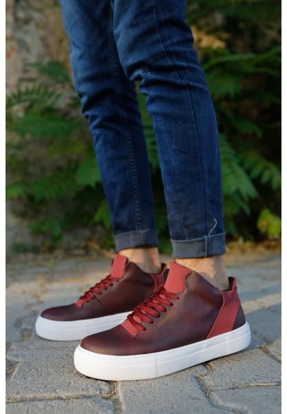 AHN004 BT Erkek Ayakkabı BORDO