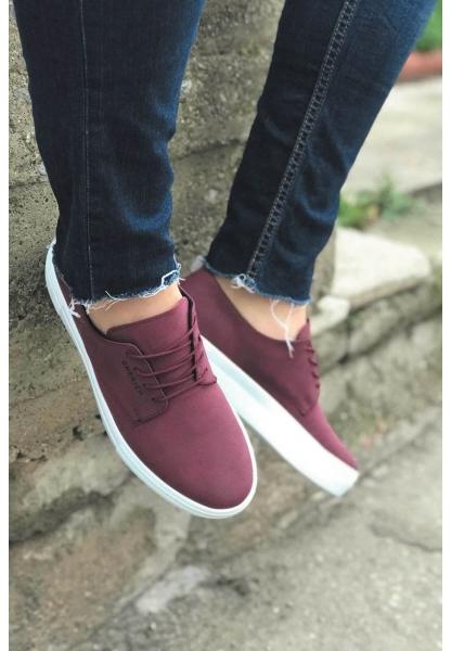 AHN005 BT Erkek Ayakkabı BORDO