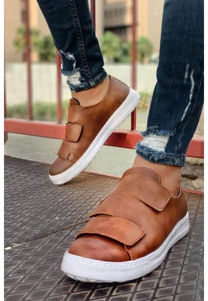 AHN007 BT  Erkek Ayakkabı TABA