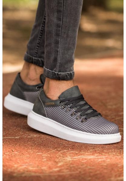 AHN021 YBT Erkek Ayakkabı ANTRASİT
