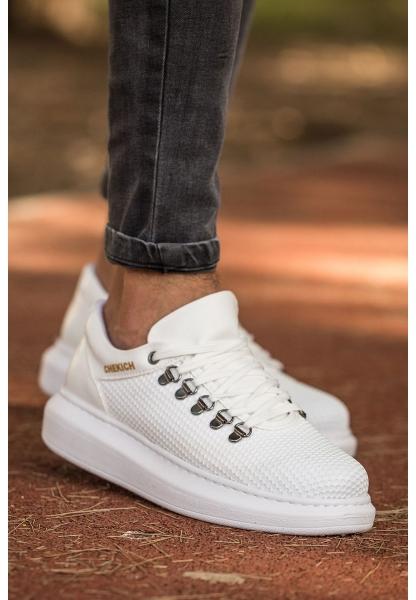 AHN021 YBT Erkek Ayakkabı BEYAZ