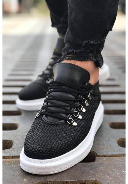 AHN021 YBT Erkek Ayakkabı SİYAH