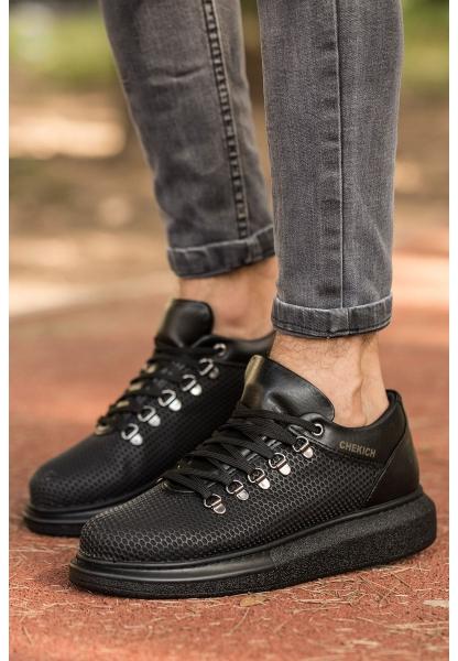 AHN021 YST Erkek Ayakkabı SİYAH