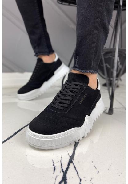 AHN037SBT Erkek Ayakkabı SİYAH / BEYAZ