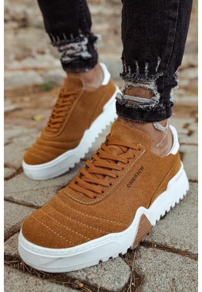AHN037SBT Erkek Ayakkabı TABA / BEYAZ