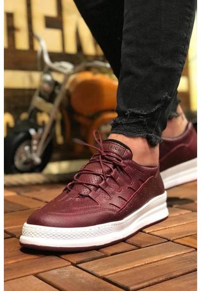 AHN040 BT Erkek Ayakkabı BORDO