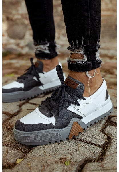 AHN067 ABT Erkek Ayakkabı ANTRASİT/BYZ(57-10)