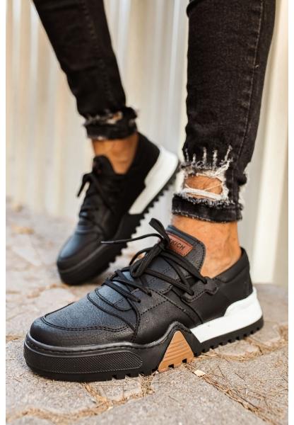AHN067 SBT Erkek Ayakkabı SİYAH/SİYAH