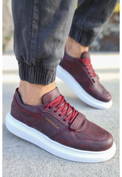 AHN073 BT Erkek Ayakkabı BORDO