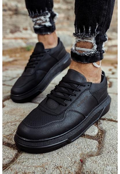AHN075 İpekyol Siyah Taban Erkek Ayakkabı SIYAH