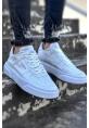 AHN087 BT Erkek Yüksek Taban Ayakkabı BEYAZ / BEYAZ