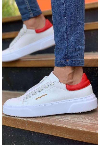 AHN092 GBT Erkek Ayakkabı BEYAZ / KIRMIZI