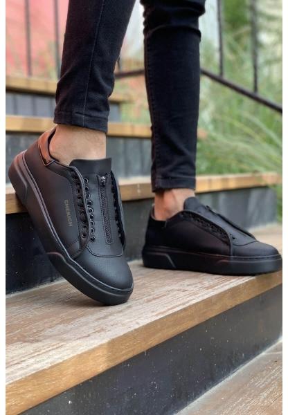 AHN092 GST Erkek Ayakkabı SİYAH / RUGAN