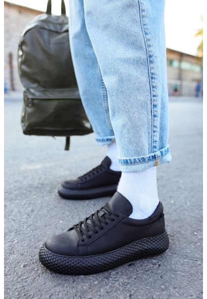 AHN107 GST Erkek Ayakkabı SİYAH / SİYAH