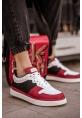 AHN109 BT Erkek Ayakkabı KIRMIZI/BEYAZ/SİYAH