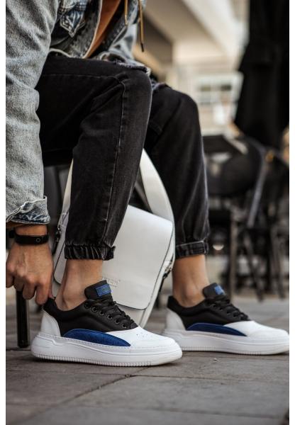 AHN115 BT Erkek Ayakkabı BEYAZ/SAX MAVİ/SİYAH