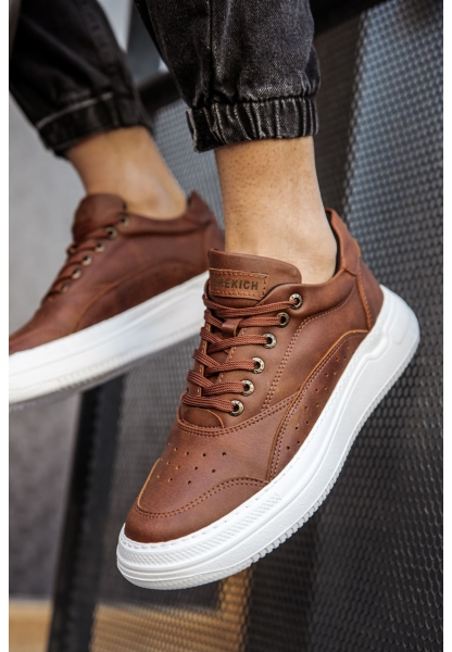AHN115 İpk. BT Erkek Ayakkabı TABA