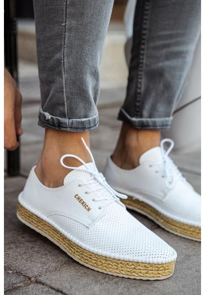 AHN117 BT Erkek Ayakkabı BEYAZ