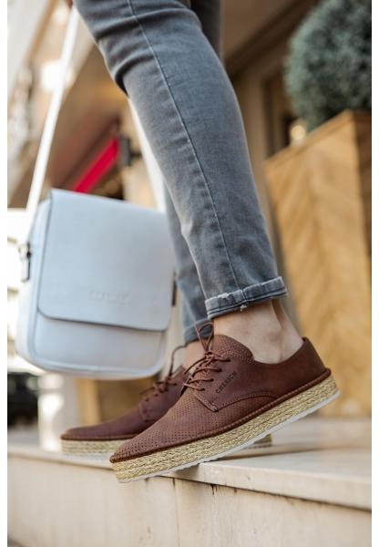 AHN117 BT Erkek Ayakkabı TABA