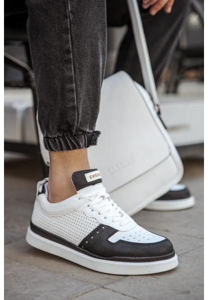 AHN201 BT Erkek Ayakkabı SİYAH / BEYAZ