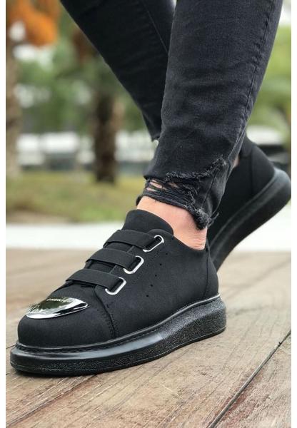 AHN251 Süet ST Erkek Ayakkabı SIYAH