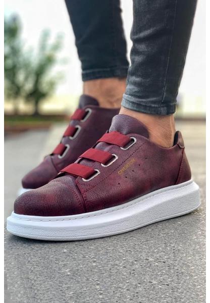 AHN253 BT Erkek Ayakkabı BORDO