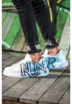 AHN254 BT Erkek Ayakkabı 418 MAVİ RUN