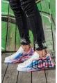 AHN254 BT Erkek Ayakkabı 425 BORDO MAVİ COOL