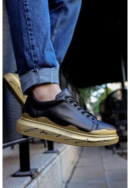 AHN254 ST Erkek Ayakkabı 482 GOLD YALDIZ TABAN