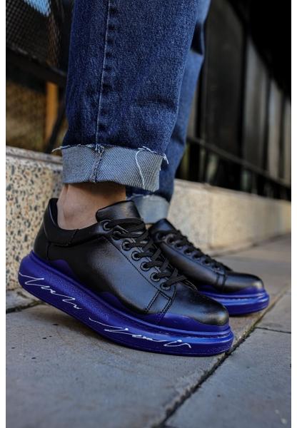 AHN254 ST Erkek Ayakkabı 483 MAVİ / BEYAZ TABAN