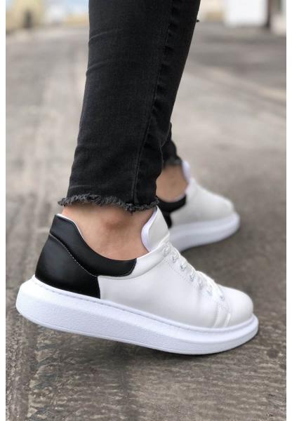 AHN256 BT  Erkek Ayakkabı BEYAZ / SİYAH