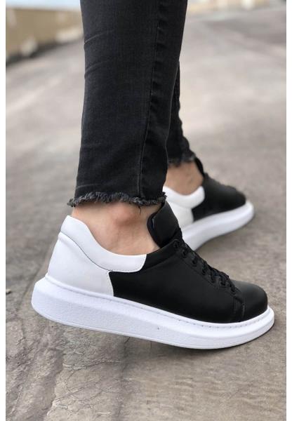 AHN256 BT  Erkek Ayakkabı SİYAH / BEYAZ