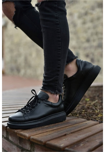 AHN257 ST Erkek Ayakkabı SİYAH