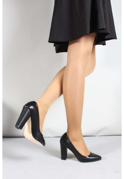 My Fiero Siyah Kadın Yüksek Topuk Ayakkabı