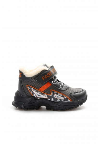 Ayakkabıhane Füme Oranj Unisex Çocuk Sneaker Ayakkabı AH617XA108