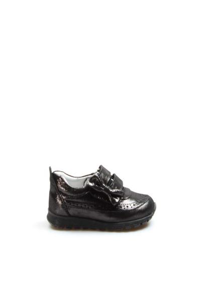Ayakkabıhane Hakiki Deri Çelik Simli Kız Çocuk Sneaker Ayakkabı AH837IA03