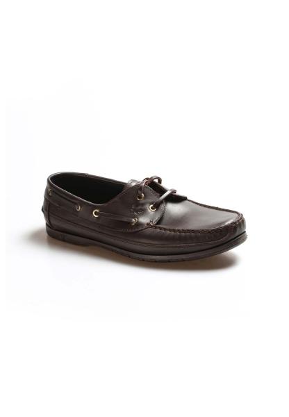 Ayakkabıhane Kaliteli Hakiki Deri Kahve Erkek Loafer Babet Ayakkabı AH628MBADAXFAST