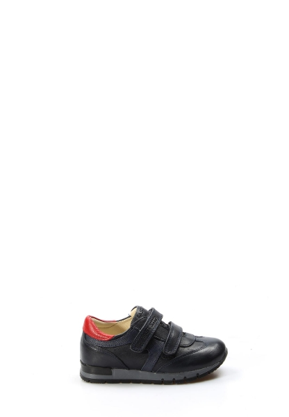 Ayakkabıhane Hakiki Deri Lacivert Kırmızı Erkek Çocuk Casual Ayakkabı AH006PA900