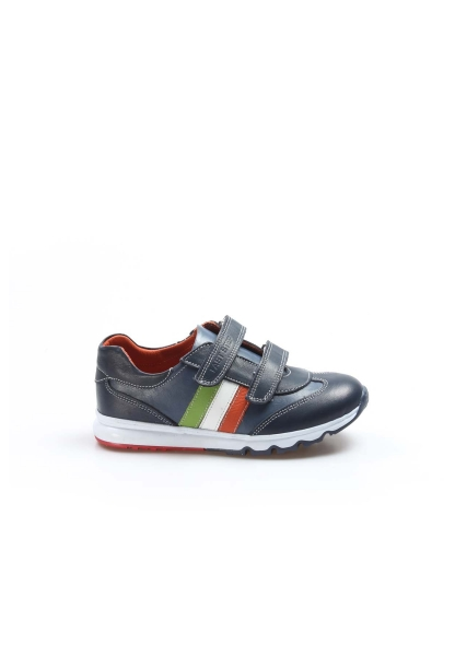Ayakkabıhane Hakiki Deri Lacivert Unisex Çocuk Casual Ayakkabı AH006FA800