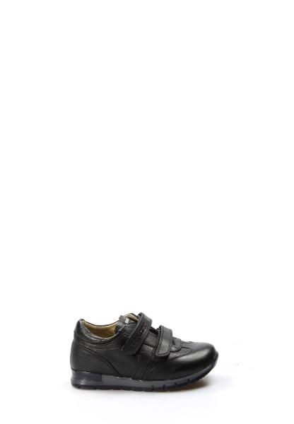 Ayakkabıhane Hakiki Deri Siyah Erkek Çocuk Casual Ayakkabı AH006PA900