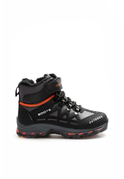 Ayakkabıhane Siyah Füme Oranj Unisex Outdoor Bot AH865SXA6025