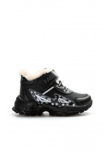 Ayakkabıhane Siyah Unisex Çocuk Sneaker Ayakkabı AH617XA108