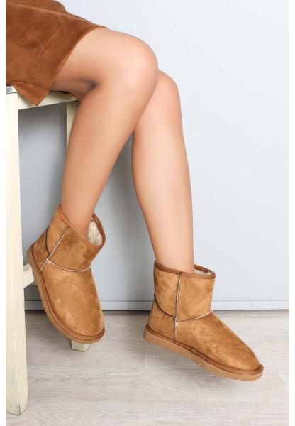 Ayakkabıhane Taba Kadın Klasik Bot AH947SZA600